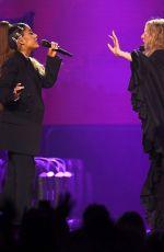 ARIANA GRANDE and BARBRA STREISAND Performs at Barbra