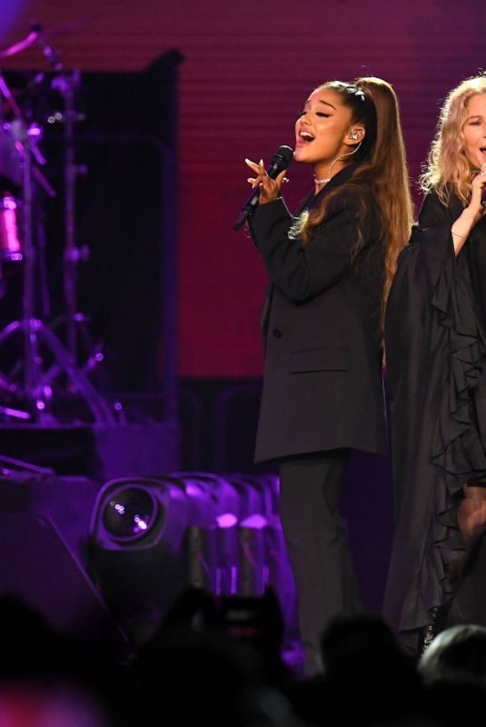 ARIANA GRANDE and BARBRA STREISAND Performs at Barbra's Concert in Chicago 08/06/2019