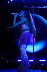 ARIANA GRANDE Performs at Final Night of Lollapalooza in Chicago 08/04/2019