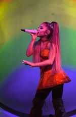 ARIANA GRANDE Performs at Her Sweetener World Tour at O2 Arena in London 08/17/2019