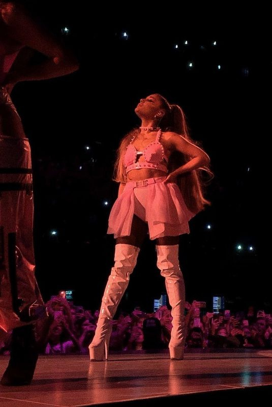 ARIANA GRANDE Performs at Sweetener World Tour in Amsterdam 08/23/2019