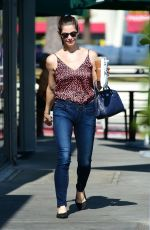 ASHLEY GREENE Out and About in Los Angeles 08/22/2019