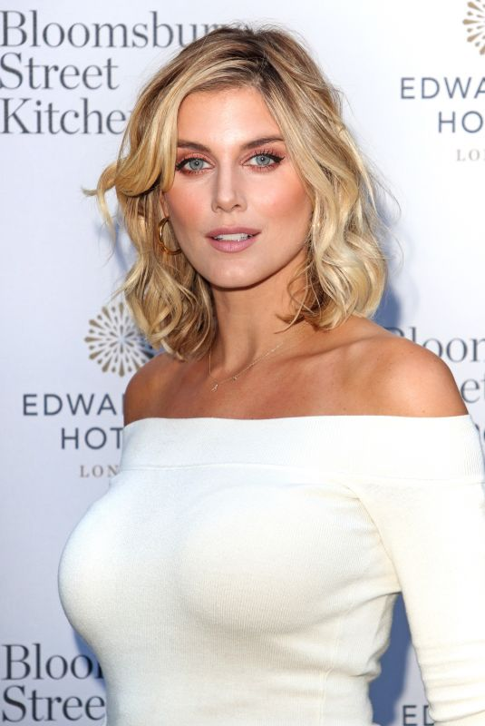 ASHLEY JAMES at Bloomsbury Street Kitchen Restaurant Launch Party in London 08/08/2019