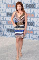 AUBREY DOLLAR at Fox Summer TCA All-star Party in Beverly Hills 08/07/2019