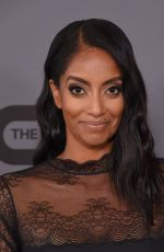 AZIE TESFAI at CW Summer 2019 TCA Party in Beverly Hills 08/04/2019
