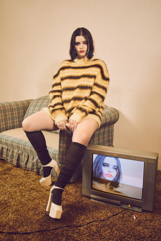 BARBIE FERREIRA for Interview Magazine, August 2019