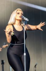 BEBE REXHA Performs at Lands Music Festival at Golden Gate Park in San Francisco 08/12/2019