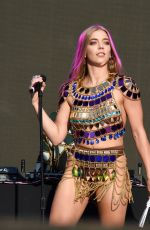 BECKY HILL Performs at Manchester Pride 08/25/2019