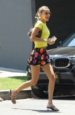 BELLA HADID Out and About in Hollywood 08/09/2019