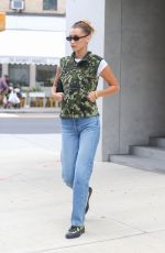 BELLA HADID Out in New York 08/27/2019