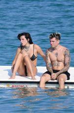 BELLA THORNE in Bikini on Holiday in Sardinia 08/25/2019
