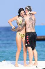 BELLA THORNE in Bikini on Vacation in Sardinia 08/24/2019