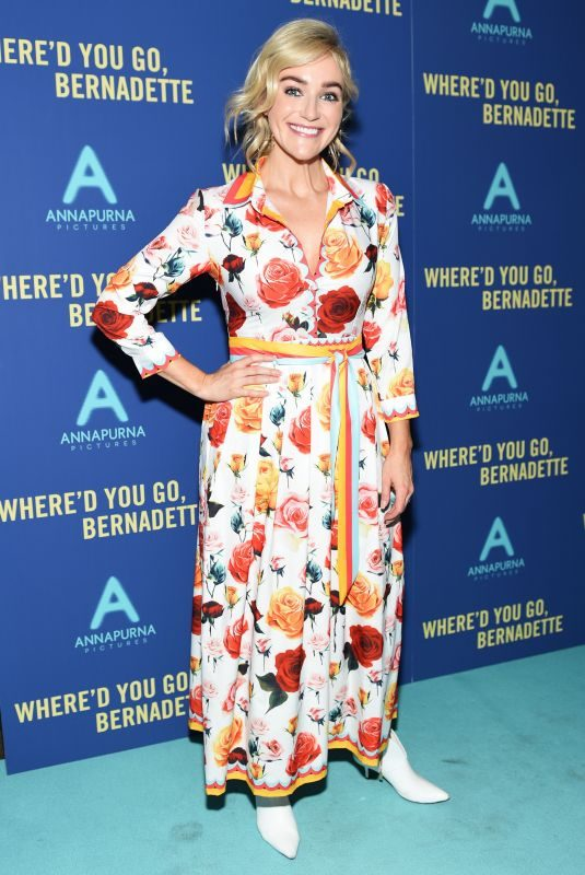 BETSY WOLFE at Where'd You Go Bernadette Screening in New York 08/12/2019