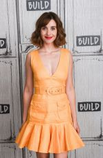 BETTY GILPIN and ALISON BRIE at AOL Build in New York 08/13/2019