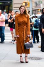 BETTY GILPIN Arrives at Build Studios in New York 08/13/2019