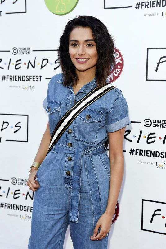BHAVNA LIMBACHIA at Comedy Central Friends Festival VIP Night in Manchester 08/06/2019