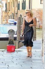 BILLIE PIPER Arrives in Venice 08/29/2019