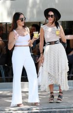 BRIE and NIKKI BELLA Out in Studio City 08/13/2019