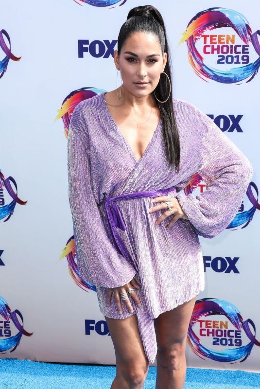 BRIE BELLA at Teen Choice Awards 2019 in Hermosa Beach 08/11/2019
