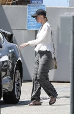 BRIE LARSON Leaves a Gym in Los Angeles 08/09/2019