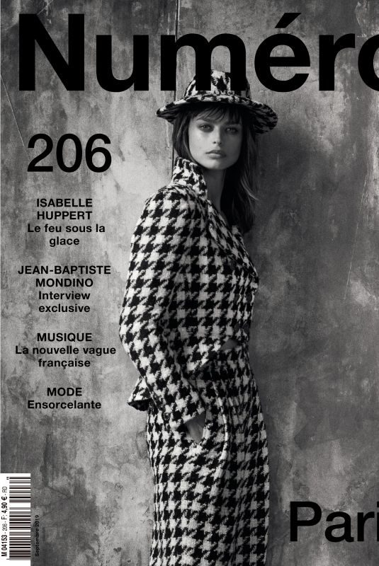 BRIGIT KOS in Numero Magazine, France September 2019