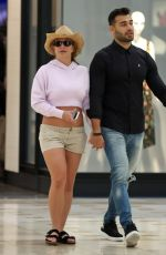 BRITNEY SPEARS at a Mall in Los Angeles 08/30/2019