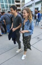 BRITT ROBERTSON Out in Hollywood 08/12/2019