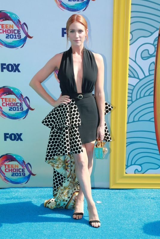 BRITTANY SNOW at Teen Choice Awards 2019 in Hermosa Beach 08/11/2019