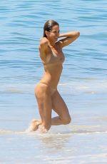BROOKE BURKE in Bikini on the Beach in Malibu 08/26/2019