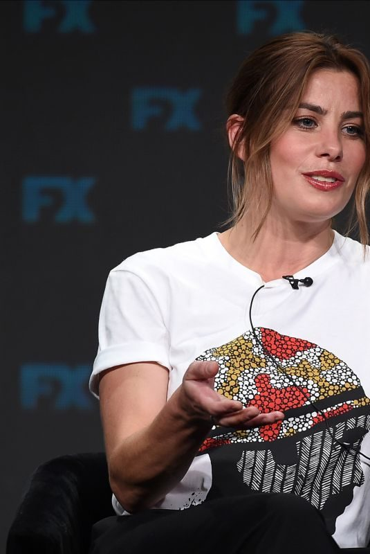 BROOKE SARCHWELL at Mr Inbetween Panel at TCA Summer Press Tour in Los Angeles 08/06/2019