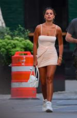 BROOKS NADER in Tight Dress Out in New York 08/10/2019