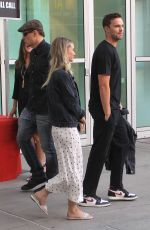 BRYANA HOLLY and Nicholas Hoult Out in Los Angeles 07/30/2019