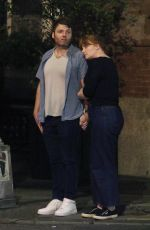 BRYCE DALLAS HOWARD and Seth Gabel Night Out in New York 08/14/2019
