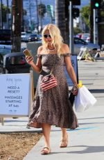 BUSY PHILIPPS Out Shopping in Silver Lake 08/16/2019
