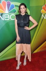 CAITLIN MCGEE at NBC TCA Summer Press Tour in Los Angeles 08/08/2019