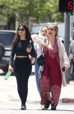 CAMILA CABELLO Out in Los Angeles with Her Mom and Sister 08/03/2019