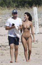 CAMILA MORRONE in Bikini and Leonardo Dicaprio on Vacation in Corsica 08/08/2019