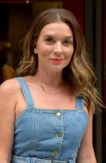 CANDICE BROWN Leaves BBC Studios in London 08/11/2019