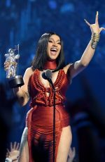 CARDI B at 2019 MTV Video Music Awards in Newark 08/26/2019