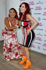 CARLA HOWE at Selfie Factory Westfield Launch Party in London 07/31/2019