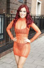 CARLA HOWE Out and About in London 08/01/2019