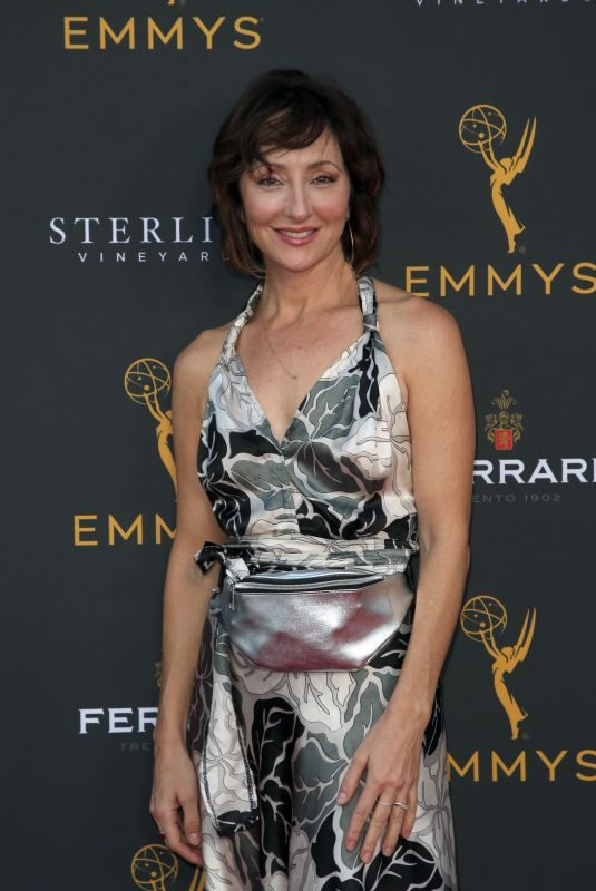 CARMEN CUSACK at 2019 Daytime Programming Peer Group Celebration in Hollywood 08/28/2019
