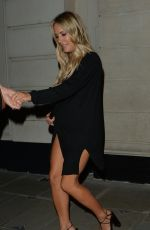CAROLINE FLACK Leaves Tramp Nightclub in London 08/20/2019