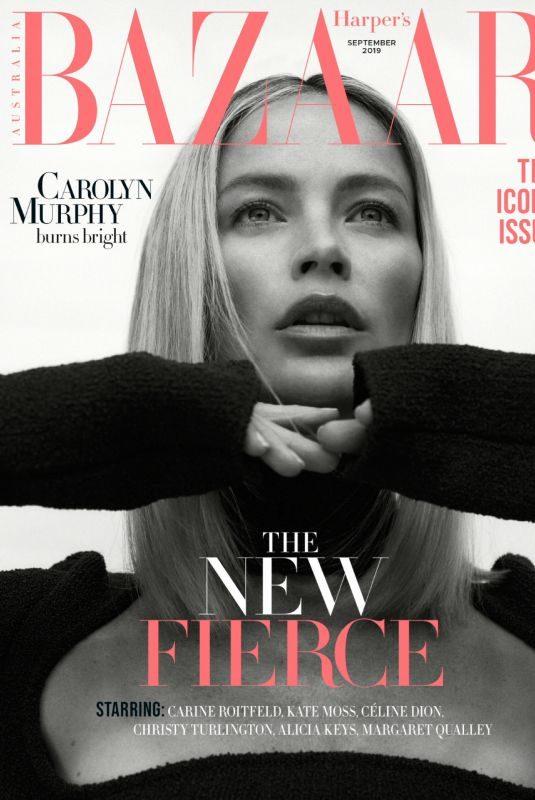 CAROLY MURPHY in Harper's Bazaar Magazine, Australia September 2019