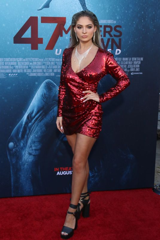 CARRINGTON DURHAM at 47 Meters Down: Uncaged Premiere in Los Angeles 08/13/2019