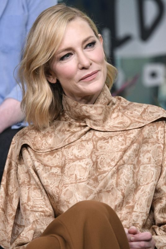 CATE BLANCHETT at Build studio in New York 08/12/2019