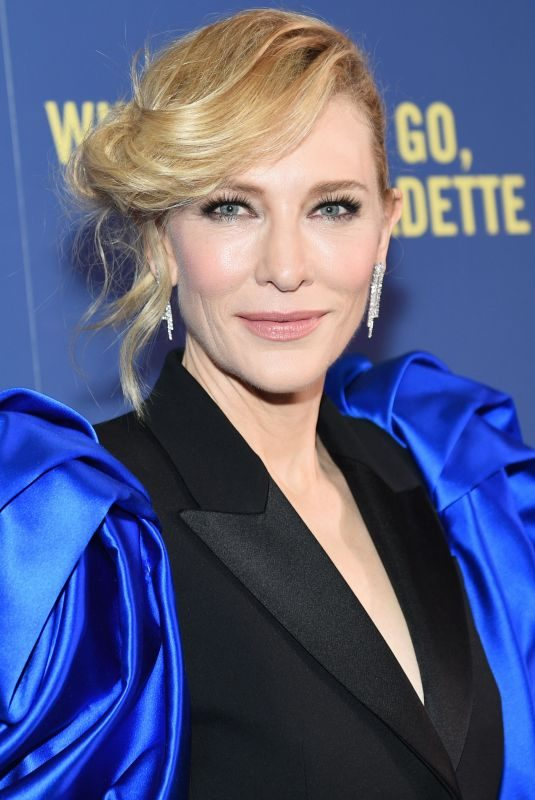 CATE BLANCHETT at Where'd You Go Bernadette Screening in New York 08/12/2019