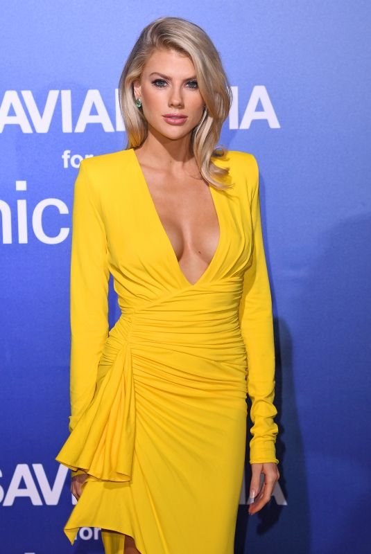 CHARLOTTE MCKINNEY at Unicef Summer Gala Presented by Luisaviaroma in Porto Cervo 08/09/2019