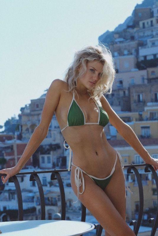 CHARLOTTE MCKINNEY in Bikini - Instagram Photo 08/04/2019