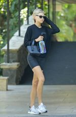 CHARLOTTE MCKINNEY Out and About in Beverly Hills 08/24/2019